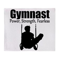POWER GYMNAST Throw Blanket