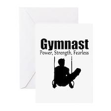 POWER GYMNAST Greeting Cards (Pk of 20)