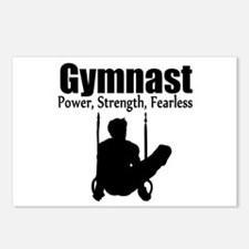 POWER GYMNAST Postcards (Package of 8)