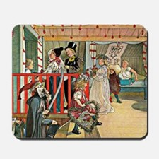 Carl Larsson artwork: A Day of Celebrati Mousepad