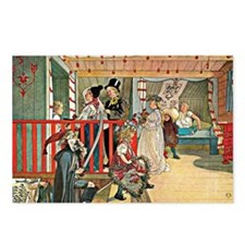 Carl Larsson artwork: A D Postcards (Package of 8)