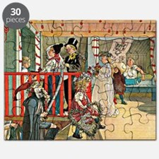 Carl Larsson artwork: A Day of Celebration Puzzle