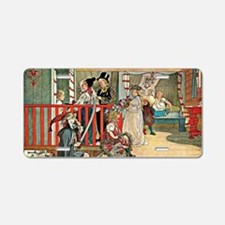 Carl Larsson artwork: A Day Aluminum License Plate