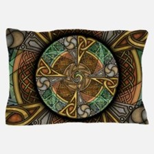 Celtic Aperture Mandala Pillow Case
