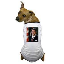 President Reagan Dog T-Shirt