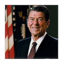 President Reagan Tile Coaster