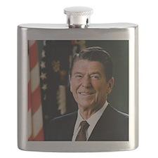 President Reagan Flask