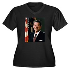 President Reagan Plus Size T-Shirt