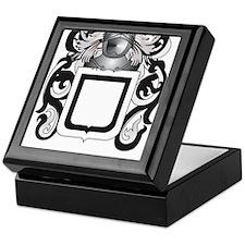 Travis Family Crest (Coat of Arms) Keepsake Box