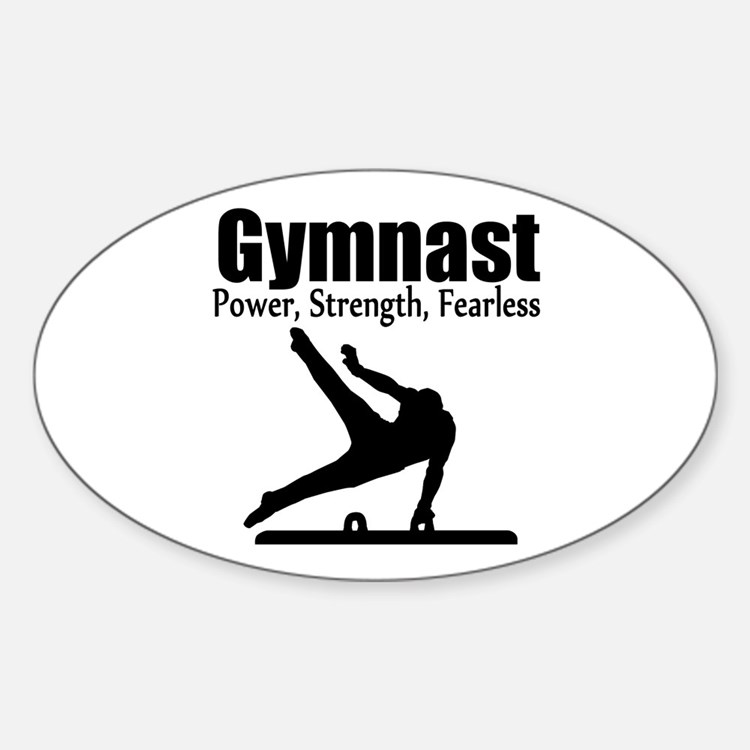 AWESOME GYMNAST Decal