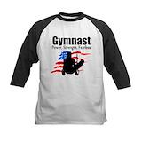 Gymnastics boys Baseball Jersey