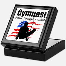 CHAMPION GYMNAST Keepsake Box