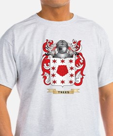 Trees Family Crest (Coat of Arms) T-Shirt