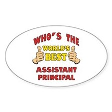 World's Best Assistant Principal (Thumbs Up) Stick