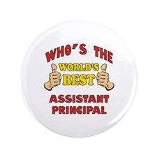 """World's Best Assistant Principal (Thumbs Up) 3.5"""""""