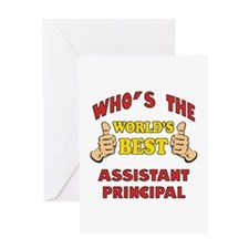 World's Best Assistant Principal (Thumbs Up) Greet