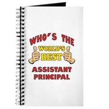 World's Best Assistant Principal (Thumbs Up) Journ