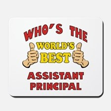 World's Best Assistant Principal (Thumbs Up) Mouse