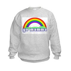 YO MAMMA! Rainbow Sweatshirt