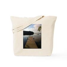 Meet Me on the Dock Tote Bag