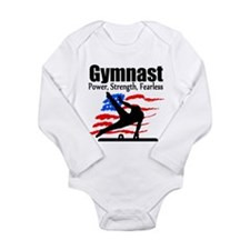 ALL AROUND GYMNAST Long Sleeve Infant Bodysuit