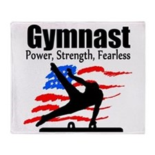 ALL AROUND GYMNAST Throw Blanket