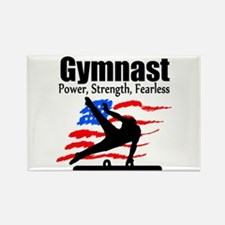 ALL AROUND GYMNAST Rectangle Magnet