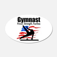 ALL AROUND GYMNAST Wall Decal