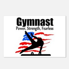 ALL AROUND GYMNAST Postcards (Package of 8)