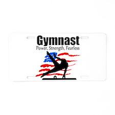 ALL AROUND GYMNAST Aluminum License Plate