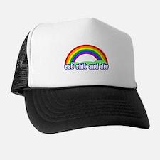Eat Shit Rainbow Trucker Hat