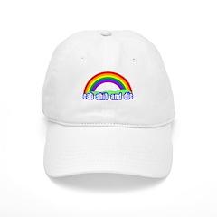 Eat Shit Rainbow Baseball Cap