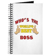 World's Best Boss (Thumbs Up) Journal