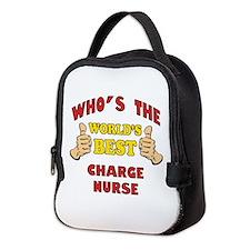 World's Best Charge Nurse (Thumbs Up) Neoprene Lun