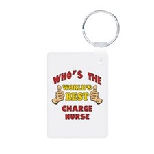 World's Best Charge Nurse (Thumbs Up) Keychains
