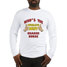 World's Best Charge Nurse (Thumbs Up) Long Sleeve