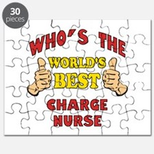 World's Best Charge Nurse (Thumbs Up) Puzzle