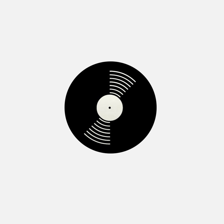 Vinyl LP Mini Button