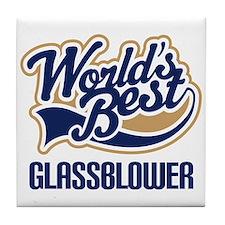 Glassblower (Worlds Best) Tile Coaster