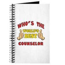 World's Best Counselor (Thumbs Up) Journal
