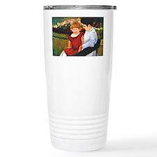 In the Park, Mary Cassatt paint Travel Mug