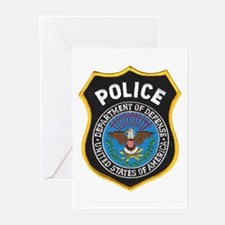 DOD Police Greeting Cards (Pk of 10)