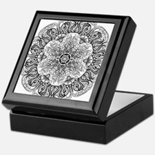 Mehndi Floral Design Keepsake Box
