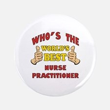 "World's Best Nurse Practitioner (Thumbs Up) 3.5"" B"