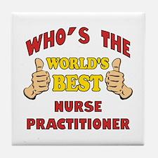 World's Best Nurse Practitioner (Thumbs Up) Tile C