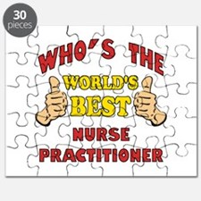 World's Best Nurse Practitioner (Thumbs Up) Puzzle
