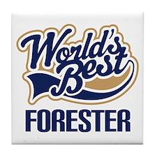 Forester (Worlds Best) Tile Coaster