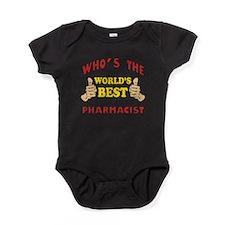 World's Best Pharmacist (Thumbs Up) Baby Bodysuit