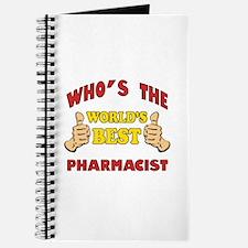 World's Best Pharmacist (Thumbs Up) Journal