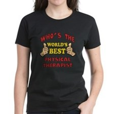World's Best Physical Therapist (Thumbs Up) Women'